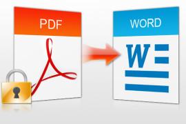 تحويل ملفات PDF الي Word  مجاناً وبدون برامج