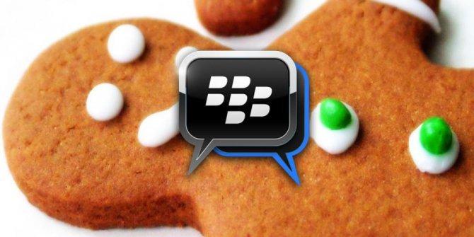 نسخة BBM لخبز الزنجبيل ولأي هاتف يعمل بنظام 2.3.3 9