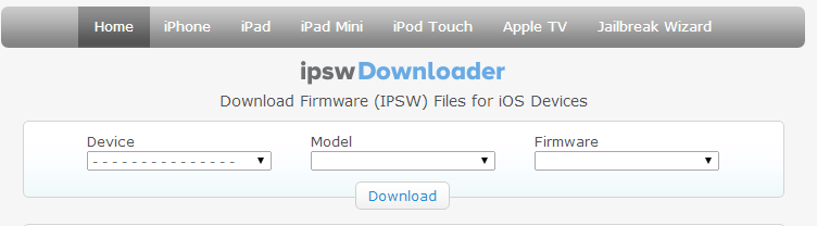 iphone firmware