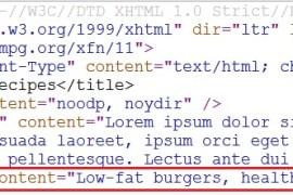 الكلمات المفتاحيه لم تعد مهمه في السيو – Keywords Meta Tag