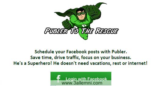 كيفيه النشر فى جميع الصفحات على الفيس بوك فى نفس الوقت 1
