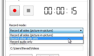 تسجيل مكالمات Skype فيديو وصوتيه بأعلي جوده 1