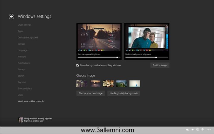 """التصميم الاقرب لنظام ويندوز 10 """"Windows 10"""" القادم 2"""