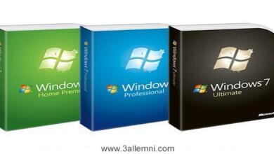 تحميل ويندوز 7 بروابط مباشره نسخة 32 و 64 من مايكروسوفت 2
