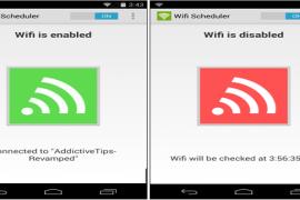 تطبيق Wireless Manager للحفاظ علي البطاريه بإغلاق الوايرلس في حالة عدم وجود اشاره