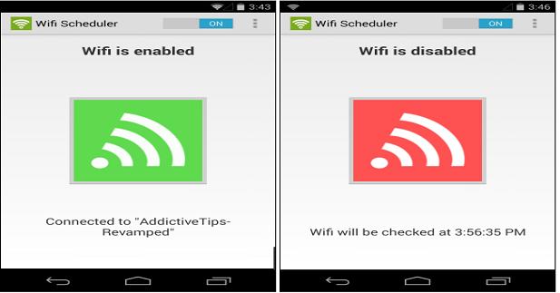 تطبيق Wireless Manager للحفاظ علي البطاريه بإغلاق الوايرلس في حالة عدم وجود اشاره 1
