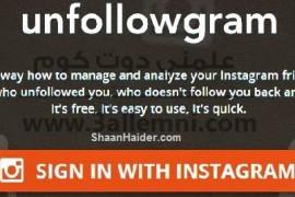 كيفيه معرفه من قام بإلغاء متابعتك على instagram