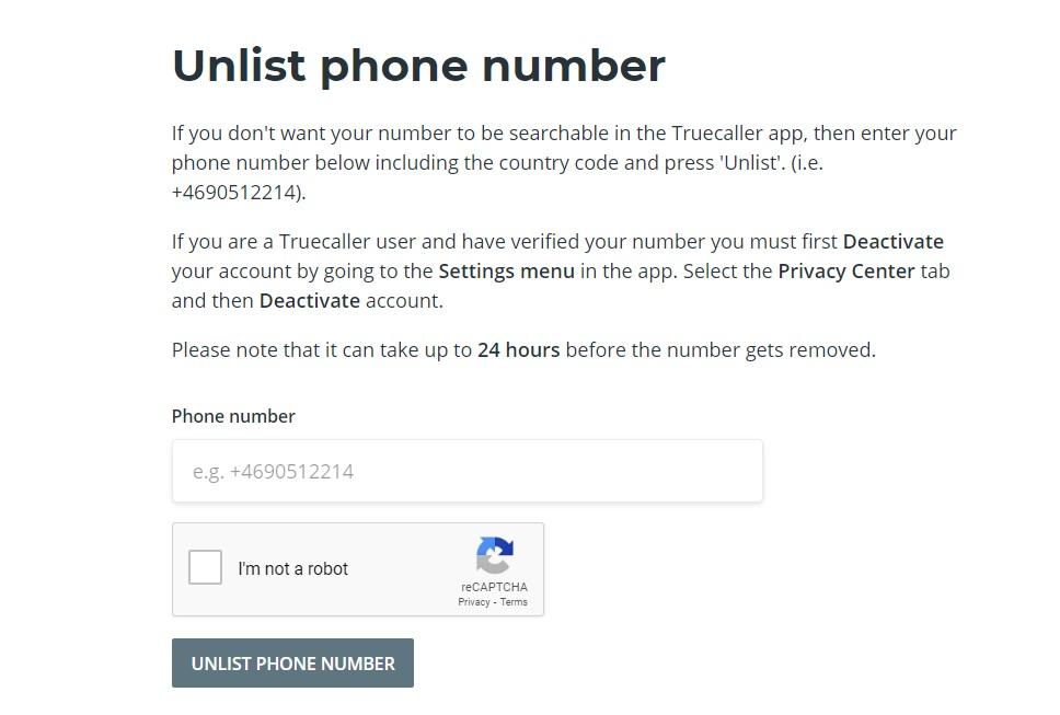 كيفية حذف اي رقم او اسم من تطبيق TrueCaller 1