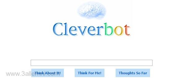 التحدث مع روبوت ذكي علي الانترنت - CleverBot