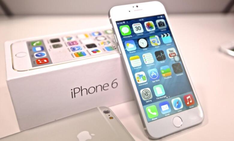 سعر ومواصفات هاتف Iphone 6 فى مصر