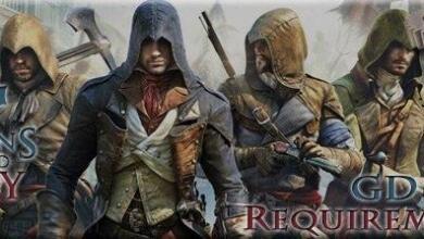 مواصفات و متطلبات تشغيل لعبة Assassin's Creed Unity