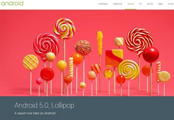 Andriod 5.0 Lollipop