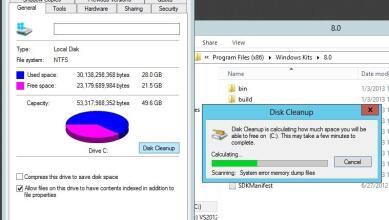 حذف ملفات الويندوز القديمه وحذف ملف windows.old