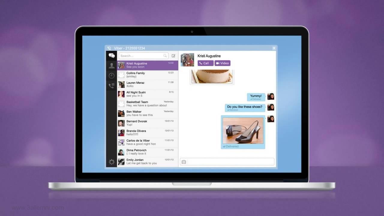 تحميل تطبيق Viber للكومبيوتر واللاب توب