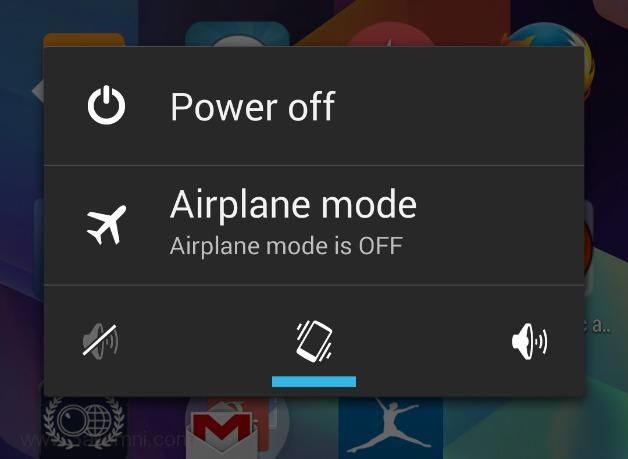 Airplance mode