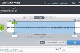 قطع وقص الملفات الصوتيه والمقاطع – Mp3Cut