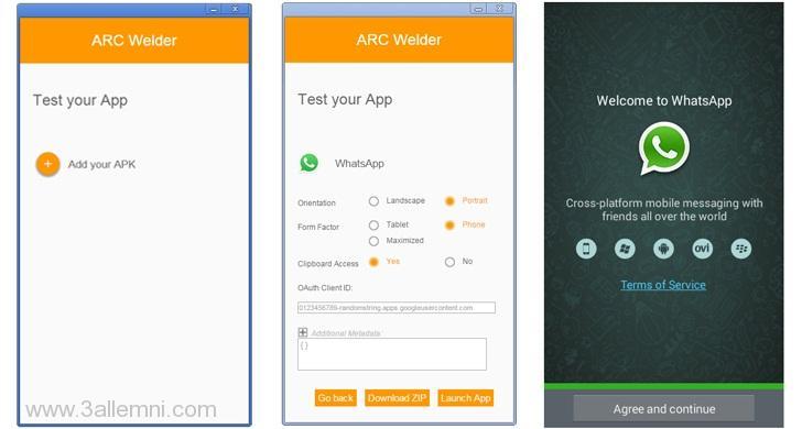 اداه ARC Welder لتشغيل تطبيقات الاندرويد على متصفح جوجل كروم