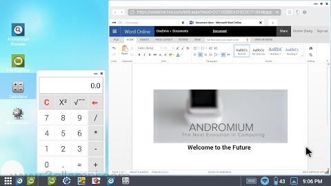 تحويل الاندرويد الى نظام الويندوز باستخدام تطبيق Andromium OS
