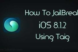 كيفية عمل jailbreak للايفون 8.1.2
