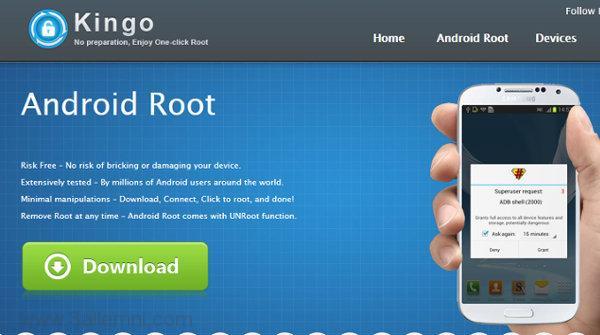 عمل روت لاجهزه الاندرويد باستخدام تطبيق Kingroot