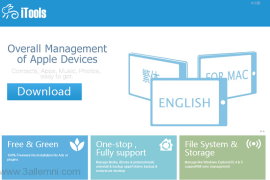 تحميل برنامج iTools باللغه الانجليزيه