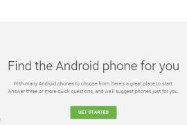 جوجل تطلق اداه تساعدك على اختيار هاتفك