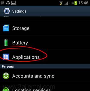 حل مشكله The process android.process.acore has stopped 2