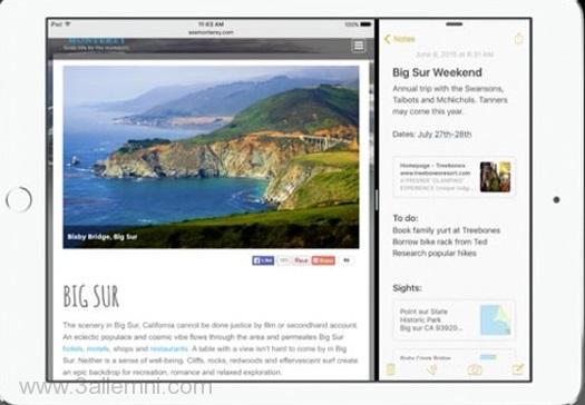 خاصيه Multitasking فى iOS 9