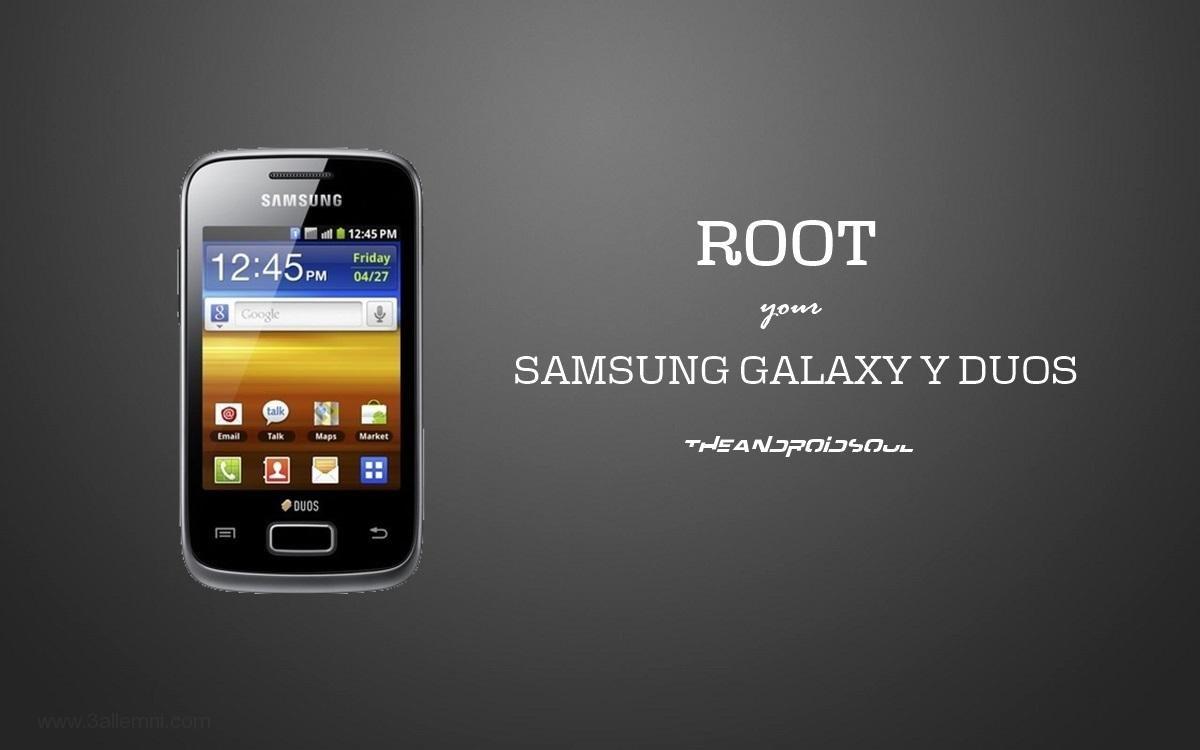 كيفية عمل روت لهاتف Galaxy Young GT-S6312 1
