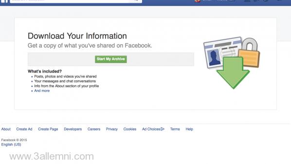 تحميل-بيانات-الفيسبوك