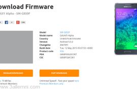 تحميل روم لولي بوب لـ Samsung Galaxy Alpha 5.0.2