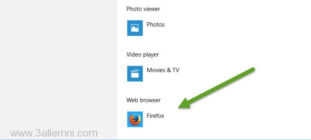 تغيير-المتصفح-الافتراضي-ويندوز-10-3