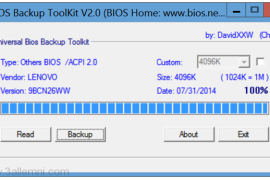 """كيفيه عمل نسخه """"BackUp"""" من BIOS"""