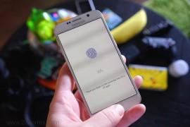 كيفية تفعيل وتشغيل البصمه في Samsung Galaxy S6