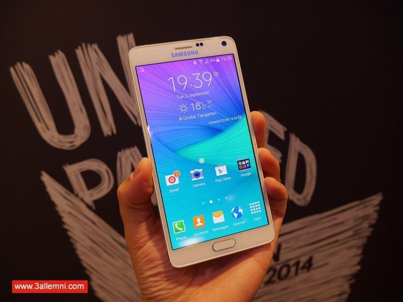 كيفية تفعيل وتشغيل البصمه في Galaxy Note 5 1