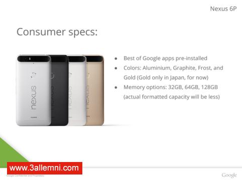 سعر و مواصفات هاتف Nexus 6P 14