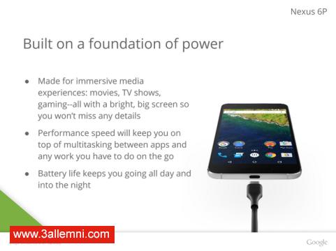 سعر و مواصفات هاتف Nexus 6P 4