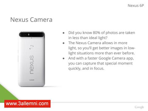 سعر و مواصفات هاتف Nexus 6P 5