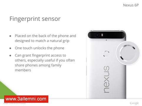 سعر و مواصفات هاتف Nexus 6P 6