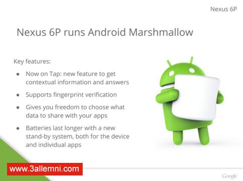 سعر و مواصفات هاتف Nexus 6P 7
