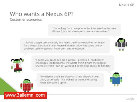سعر و مواصفات هاتف Nexus 6P 8
