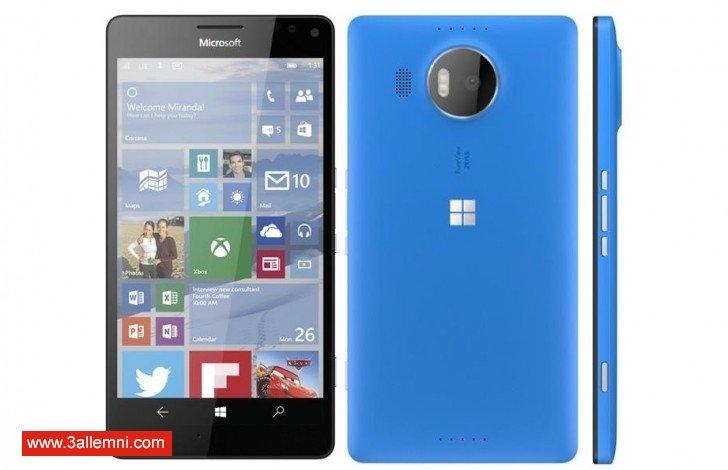 سعر و مواصفات كِلا الهاتفين Lumia 950 & 950XL 1