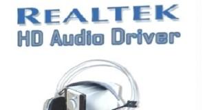 جميع تعريفات كرت الصوت Realtek