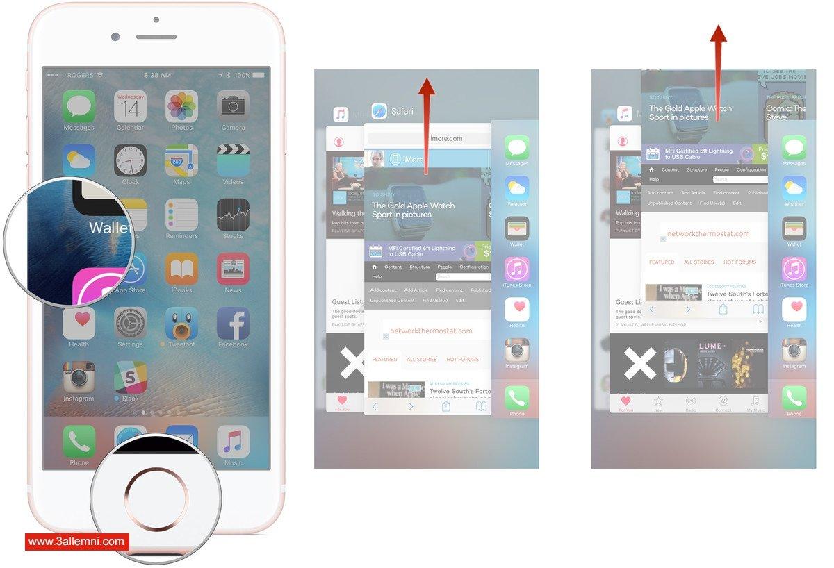 Photo of اغلاق التطبيقات في الخلفيه للـ iOS