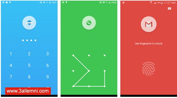 اغلاق التطبيقات بالبصمه في الاندرويد - App Lock: Fingerprint