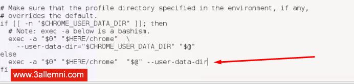 fix-run-as-root-problem