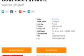 تحميل روم مارشميلو 6.0.1 Samsung Galaxy S6 الرسمي