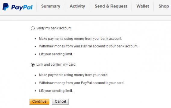 كيفية تفعيل حساب باي بال PayPal