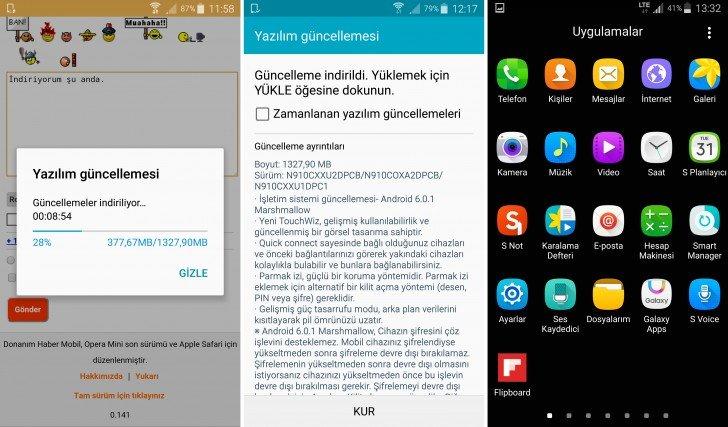 Photo of تحميل روم مارشميلو 6.0 Galaxy Note 4
