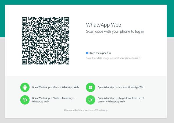 Photo of تشغيل واتس اب WhatsApp Web لقراءة المحادثات علي الكمبيوتر